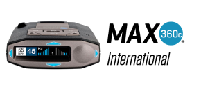 MAX brings modern comfort features, outstanding detections and Free GPS database of entire Europe