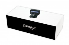 Radar detector Genevo PRO (box / package) - a built-in set with a detachable display and integrated Genevo HD+ or HDM+ radar antenna.